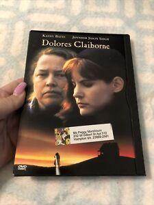 Dolores Claiborne DVD Kathy Bates Jennifer Jason Leigh 1998