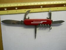 Wenger Highlander Swiss Army knife in red - has pick and tweezers,Muller Martin