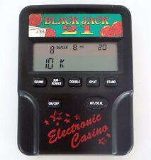 Radio Shack Blackjack 21 Handheld Game LCD Casino