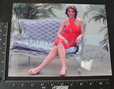 Alana De La Garza Autographed Photo - Reprint