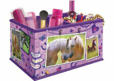Ravensburger Girly Girl 216pc 3D Horses Storage Box Jigsaw Puzzle RB12072-7