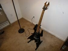 B.C Rich Black Electric Guitar