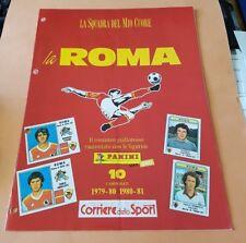 CALCIO : AS ROMA * La Squadra del mio CUORE * 1979/1980 - 1980/1981 (Panini CdS)