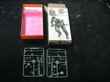 Vintage Tamiya Metal Model Figure German Panzer Grenadier Box w/ Some Parts