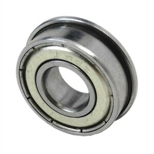 Flanged Miniature Model ZZ Metal Shielded Bearings All Sizes - HIGH QUALITY