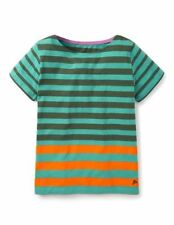 Boden Girls' Striped 100% Cotton T-Shirts, Top & Shirts (2-16 Years)