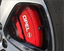 6x Opel Aufkleber für Bremssätte Emblem Logo Cors Astra Zafira Insignia Vectra
