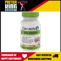 CARUSOS VALERIAN 60 TABS ENHANCE DEEP SLEEP & QUALITY RELIEVE RESTLESSNESS TIME