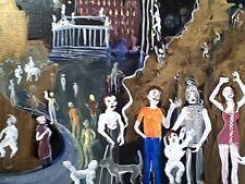 The Long Goodbye  by william mayer   new york city artist   night music scene
