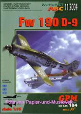 GPM 184 - Focke Wulf Fw 190 D-9 - 1:33