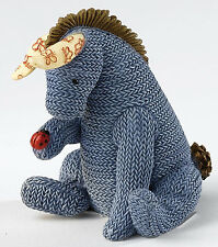 Border Fine Arts Eeyore Knitted Figurine NEW 19008
