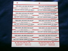 NANCY SINATRA~ JUKEBOX  TITLE STRIP ~ THESE BOOTS ARE MADE FOR WALKIN ~ORIG~TEEN