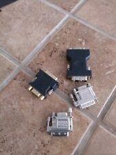 DVI A Male to HD15 VGA Female Cable Adapter DVI-A