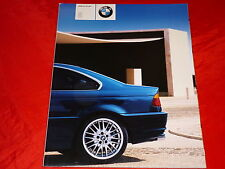 BMW 3er E46 Coupe 318Ci 320Ci 325Ci 330Ci Prospekt von 2/2000