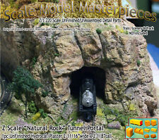 "Z Scale ""Natural Rock"" Tunnel Portal Scale Model Masterpieces 1;220*NEW PRODUCT*"
