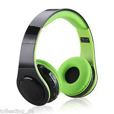 EXCELVAN LED Kopfhörer Bluetooth Stereo Profi Heavy Bass&DJ Headphones Headset