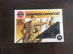 * Airfix 1/32 scale JAPANESE INFANTRY 14 Figures
