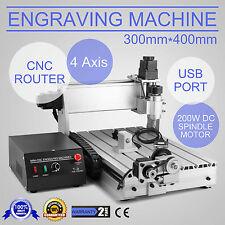 Graviermaschine FräSmaschine USB 4 Achse 3040T FräSer Carving Cnc Router Engrave