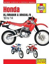 2183 Haynes Honda XL/XR600R & XR650L/R (1983 - 2014) Manual de taller