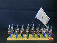1/56 28mm Napoleonic Wars DPS painted Auatrian Grenz Infantry  GH2564