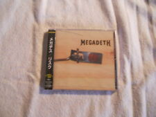 "Megadeth ""Risk"" 1999 cd  Capitol Records Japan W/Obi  TOCP-65272"
