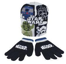 DISNEY Kinder Star Wars Set - Winterset: Mütze + Handschuhe - TOP Set !