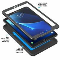 "For Samsung Galaxy Tab A 10.1 Case Poetic""Shockproof""TPU Cover-【Revolution】Black"