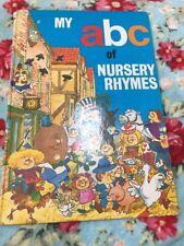 MY ABC OF NURSERY RHYMES. 0861630408. AWARD PUBLICATIONS.