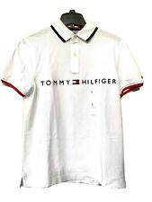NWT Mens Tommy Hilfiger Short Sleeve Polo Shirt White S/M/L/XL/XL/3XL
