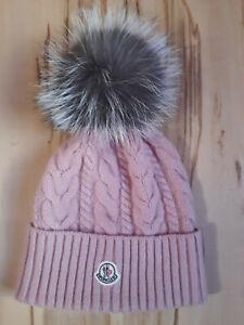 Moncler hat pompom beanie