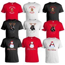 Mens Christmas T Shirt Xmas Penguin Gingerbread Darth Vader Festive Novelty New