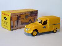 citroën 2 cv fourgonnette postale  - réf 560 au 1/43 de dinky toys atlas