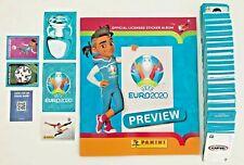 Panini EURO EM 2020 Preview - Komplett Set: Alle 568 Sticker + Leeralbum