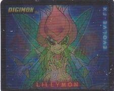 Collector Card; Digimon ...Digi-FX 3D ( Liillymon- Togemon ) 2000'