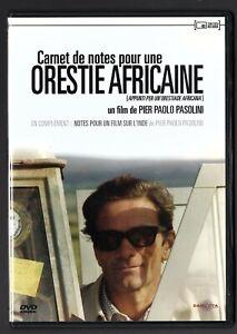 Diamant du cinéma CARNET DE NOTES POUR UNE ORESTIE AFRICAINE (1969 P.P Pasolini)