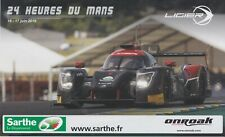 24 Heures du Mans Ligier Promo Card 1.