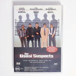 The Usual Suspects Movie DVD Region 4 AUS Free Postage - Thriller Action