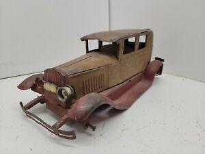 Rare Vintage 1928 Kingsbury Sedan Car Pressed Steel
