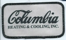 Columbia Heating & Cooling Inc Tigard, OR employee patch 2-1/2 X 4-3/8 #344