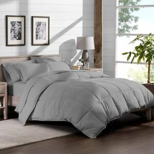 1 PCs MICROFIBER COMFORTER ALL SIZE AVAILABLE IN LIGHT GREY COLOR