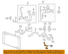 GM OEM Radiator-Bypass Pipe 97354983
