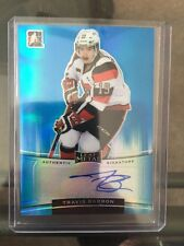 2014-15 Leaf Metal Travis Barron Auto /25 Authentic  In The Game 14/15 SP