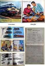 Catalogue Hornby Meccano Dinky Toys 1962-1963 vintage