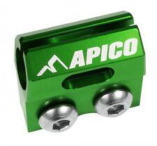 APICO BRAKE HOSE CLAMP KAWASAKI KX65 KX85 KX125 KX250 KXF250 KXF450 GREEN