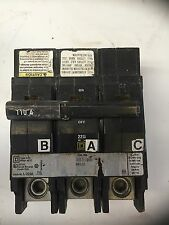Square D Qob3110Vh 110 Amp 240V Type Qod 3 Pole Circuit Breaker