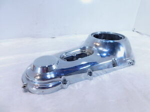 01 2001 Indian Gilroy Scout Dry Clutch Chrome Outer Primary Left Engine Cover
