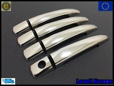 2007up peugeot 308  chrome door handle cover 4door S.STEEL