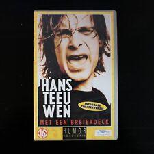 HANS TEEUWEN - MET EEN BREIERDECK  - VHS