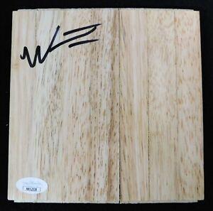 Wesley Iwundu Orlando Magic Signed 6x6 Floorboard JSA Authenticated
