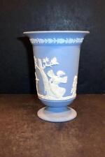 "Wedgwood Jasperware Blue Vase - 5 1/4"", 1968 - MINT"